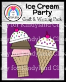 Ice Cream Craft and Writing