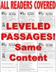Ice Cream & Dairy Month Fun FACTS Close Reading 5 Leveled Passages Print-n-Go