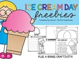 Ice Cream Day Freebies