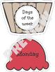 Ice Cream Days Months and Seasons Match
