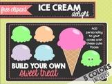 Ice Cream Delight (FREE CLIPART)