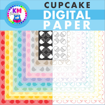 Ice Cream Digital Paper Backgrounds for Teaching Files - Clip Art