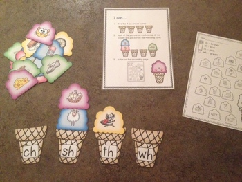Ice Cream Digraph Sorting Station