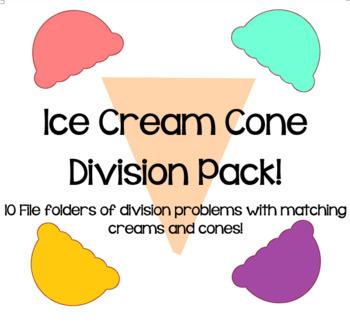 Ice Cream Division File Folders!