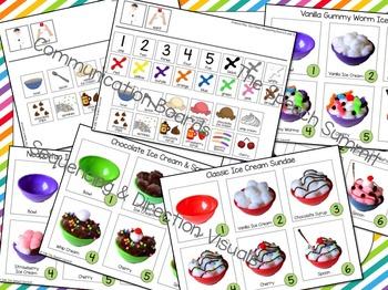 Ice Cream: Early Language Targets