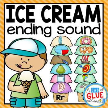 Ice Cream Ending Sound Match-Up