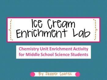 Ice Cream Enrichment Lab