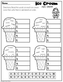 Ice Cream FREEBIE