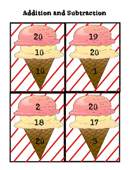 Ice Cream Fact Family Practice