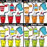 Ice Cream Float Clipart ~BUNDLE (Classroom Snack Packs 1-8)