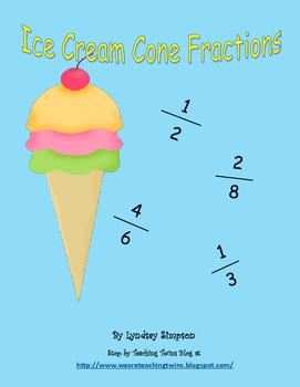 Ice Cream Fractions