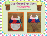 Ice-Cream Fractions (A Craftivity)