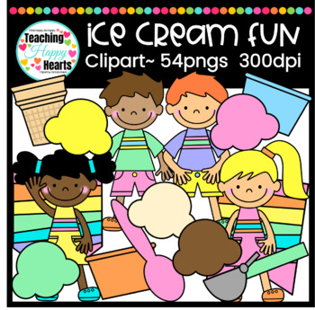 Ice Cream Fun Clipart