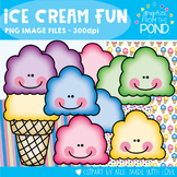 Ice Cream Fun - Clipart for Personal and Commercial Use