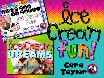 Ice Cream Fun ~ Ultimate Bundle of Science, Poetry, Center