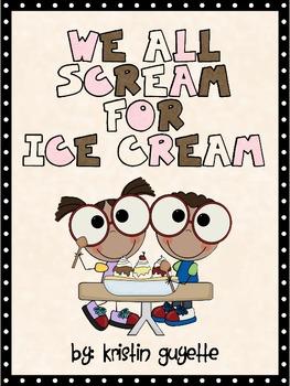 Ice Cream Fun with Activities!