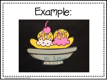 Ice Cream Glyph (A Getting to Know You Activity)