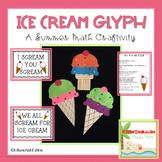 Ice Cream Glyph-A Math Craftivity
