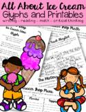 Last Week of School Ice Cream Activities and Printables