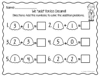 i scream for ice cream math worksheet kindergarten free i best free printable worksheets. Black Bedroom Furniture Sets. Home Design Ideas