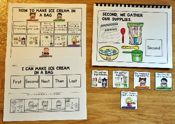 Ice Cream In a Bag Adapted Recipe Book