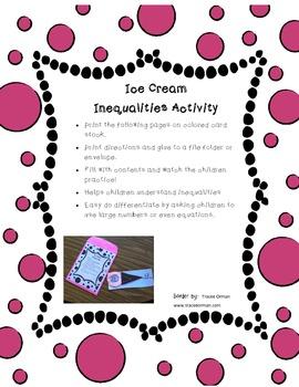 Ice Cream Inequalities