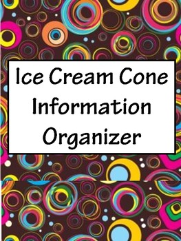 Ice Cream Information Organizer