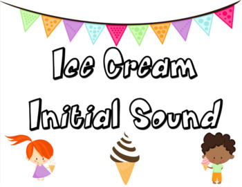 Ice Cream Initial Sound