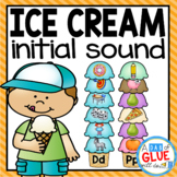 Ice Cream Initial Sound Match-Up
