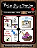 Ice Cream - Issue 001 - The Dollar Store Teacher Newslette