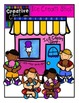 Ice Cream Kids {Creative Clips Digital Clipart}