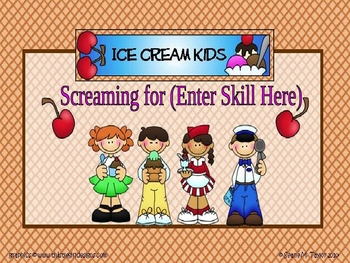 Ice Cream Kids PowerPoint Game Template