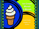 Ice Cream L-Blends- Articulation, Phonology, Apraxia and Speech Therapy