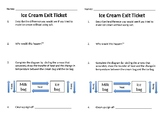 Ice Cream Lab Exit Ticket