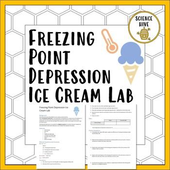 Freezing Point Depression Ice Cream Lab