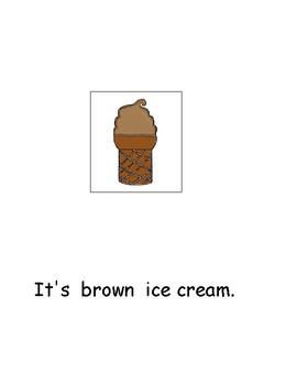 Ice Cream Language Arts-Special Education