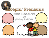 Ice Cream Language Game for Pronouns