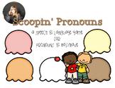 Ice Cream Language Game for Pronouns