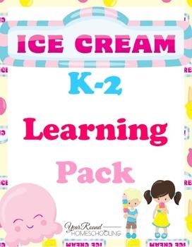 Ice Cream Learning Pack (K-2)