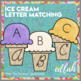 Ice Cream Letter Case Matching-PRINT TO CURSIVE