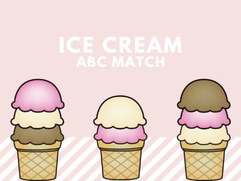 Ice Cream Letter Match