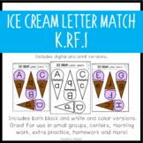 Ice Cream Letter Match {K.RF.1}