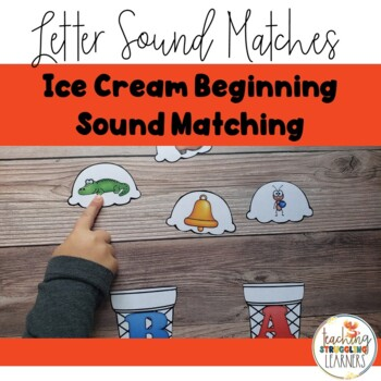 Ice Cream Letter Sound Match