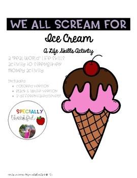 Ice Cream Life Skills Activity