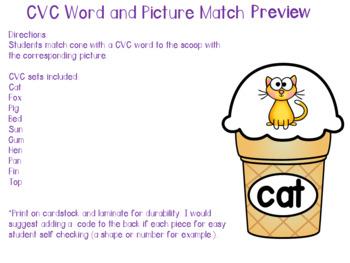 Ice Cream Literacy Activities