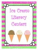Ice Cream Literacy Centers