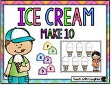 Ice Cream Make 10 Addition Game