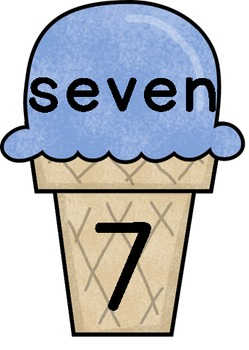 Ice Cream Match: Numbers 1 to 20
