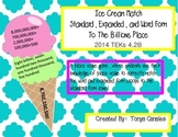 Ice Cream Match- Reading and Writing Numbers