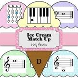 Ice Cream Match Up- Violin and Piano